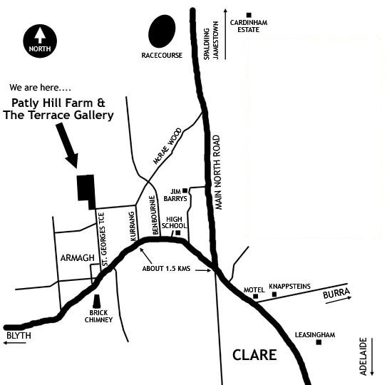 Map of Patly Hill Farm